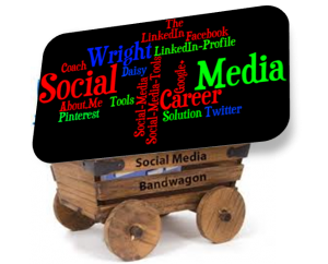 Social Media Band Wagon DW1 300x242 Social Media: The New Job Search Frontier