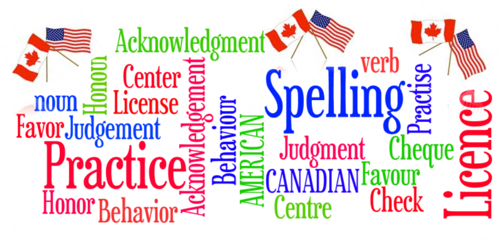 How to Differentiate Between Canadian & American Spellings