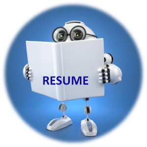 Robot Reading Resume