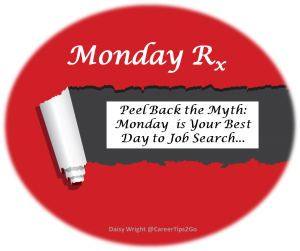 Monday Rx Best Day to Job Search 300x251 The Best Day For Your Job Search